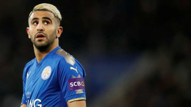 Manchester City Masih Tetap Berniat Boyong Riyad Mahrez