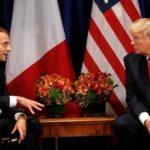 Trump Dan Macron Segera Bahas Kesepakatan Nuklir Iran