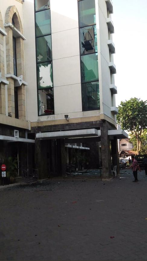 2 orang Korban Bom Bunuh Diri di Gereja Santa Maria Surabaya