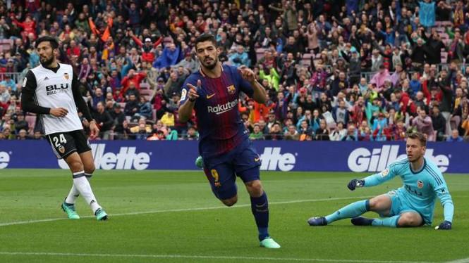 Barcelona Siap Tumbaklan Luis Suarez Demi Antoine Griezmann