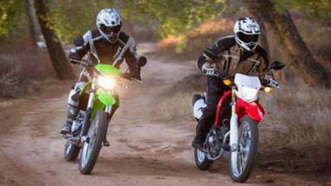 Kawasaki Kesulitan Untuk Mengejar Honda CRF