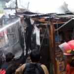 Kebakaran Warteg Menewaskan Bocah Umur 10 Tahun