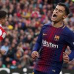 Philippe Coutinho Tak Menutupi Kekecewaannya Usai Barcelona Dikalahkan Levante