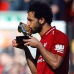 Sepatu Emas Lengkapi Pencapaian Mohamed Salah di Liga Inggris