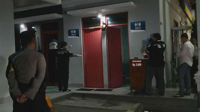 Polisi Ungkapkan Pria yang Tewas di Kamar Mandi SPBU