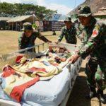 Bantu Korban Gempa TNI Telah Turunkan 2607 Prajurit Ke Lombok
