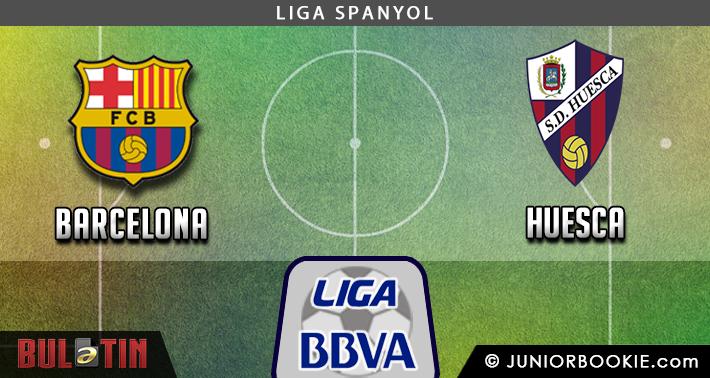 Prediksi Barcelona vs Huesca