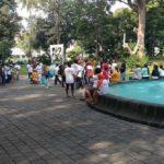 Relawan Pendukung Jokowi Berkumpul Di Menteng
