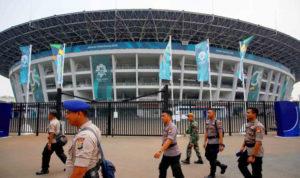 Sterilisasi Kendaraan Dilakukan Menjelang Pembukaan Asian Games di GBK