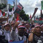 Aksi Bela Palestina di Monas Dan Rekayasa Lalu Lintas