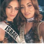 Miss Irak meninggalkan negara atas foto bersama Miss Israel