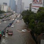 Kota Jakarta Banjir Karena Hujan Ekstrim