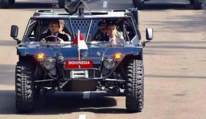 Begini Kecanggihan Mobil Jip Tempur Buatan Indonesia