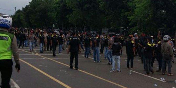 Bentrokan Antar Ormas Polisi Masih Lakukan Pemeriksaan