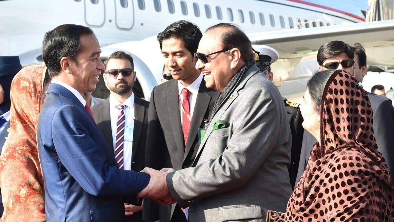 Berkunjung Ke Pakistan Presiden Jokowi Serukan Dukungan Palestina