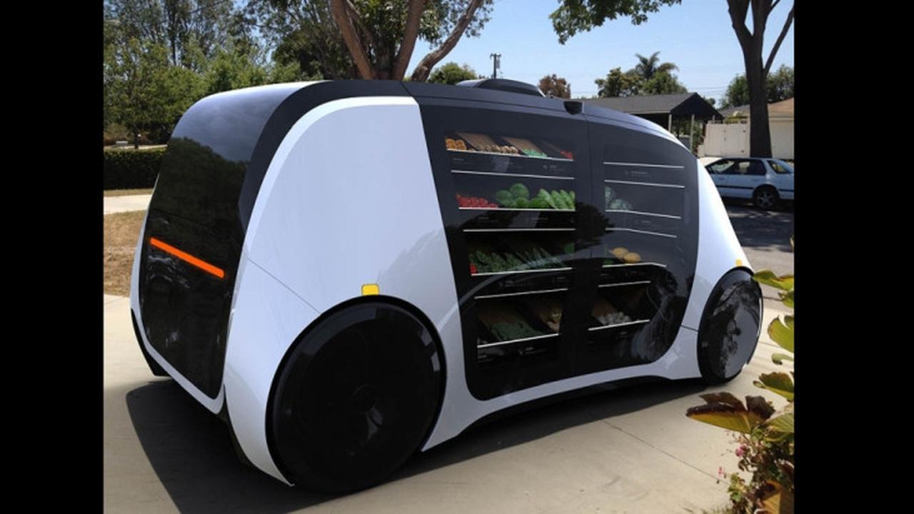 Di California Terdapat Robot Pengantar Sayuran Dan Buah