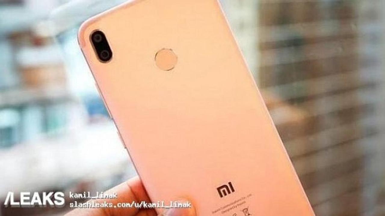 Foto Smartphone Yang Diperkirakan Adalah Xiaomi MI 6X