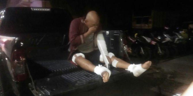 Kaki Perampok Emas DItembak Polisi