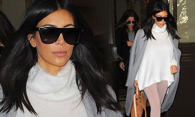 Kanye West Tak Suka Lihat Kim Gunakan Kacamata Hitam Besar