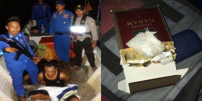 Kapten Kapal Asal Malaysia Ketahuan Bawa Sabu