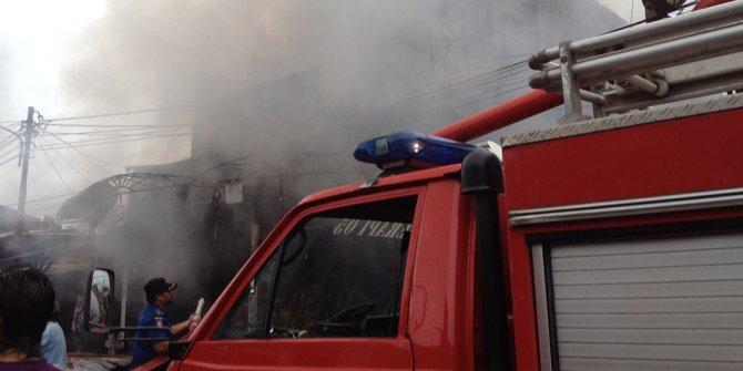 Kebakaran Di Sidoarjo Tewaskan Satu Orang