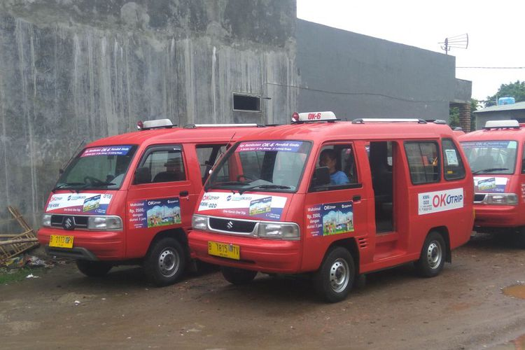 Kendaraan Angkutan Umum OK Otrip Harus Lulus Pengujian
