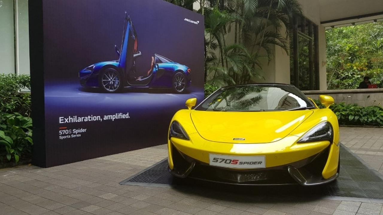 McLaren Jakarta Kembali Datangkan Mobil Terbarunya