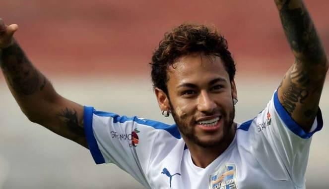 Neymar Tak Mau ke Real Madrid Jika Masih Ada Ronaldo