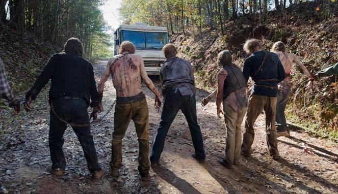 Proses Syuting Walking Dead Tewaskan Seorang Stuntman