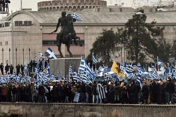 Rakyat Yunani Ingin Macedonia Berganti Nama
