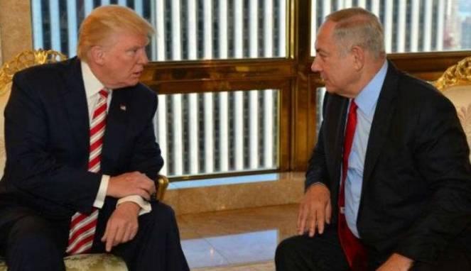 Trump Dengan Perdana Menteri Israel Tidak Sependapat Soal Kedubes AS