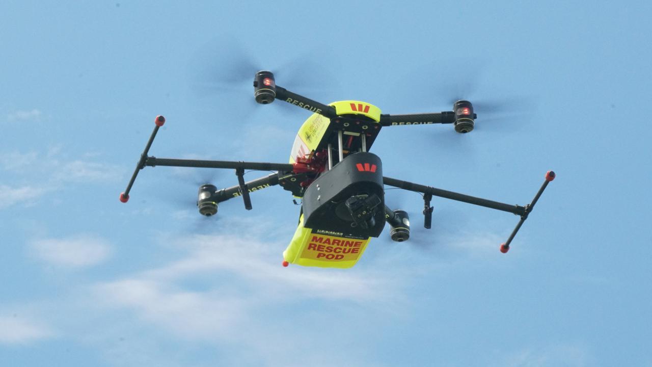 Unik, Drone Dipakai untuk Selamatkan Korban Tenggelam