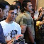 Presiden Joko Widodo Mendatangi Acara Sneakers Day Di Jakarta