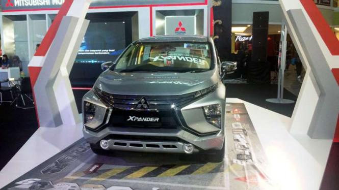 Mitsubishi Yakin Dapat Menjual Ribuan Xpander di Ajang IIMS 2018