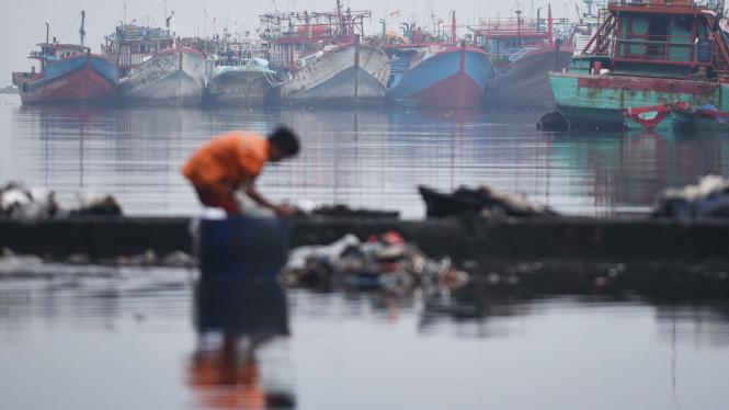 Para Nelayan di Balikpapan Bakal Menuntut Ganti Rugi ke Pertamina