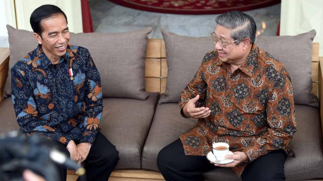 Pesan SBY Untuk Jokowi Untuk Menjaga Kedaulatan Negara