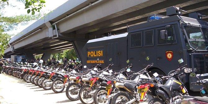 Ribuan pasukan Disiapkan Menjelang Putusan Sengketa Pilwalkot Makassar
