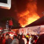 Kebakaran Besar Terjadi Di Pasar Segiri Samarinda