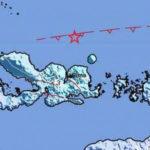 NTT Diguncang Gempa 5 Skala Richter