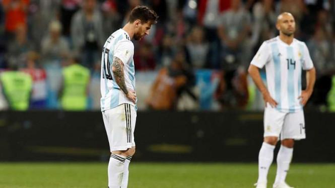 Argentina Hadapi Nigeria Dengan Keoptimisan Tinggi