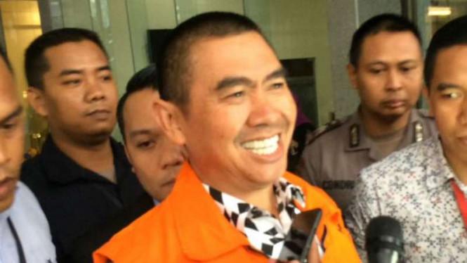 Cawalkot Malang Tersangka Korupsi Menempel Ketat Rivalnya pada Perolehan Suara