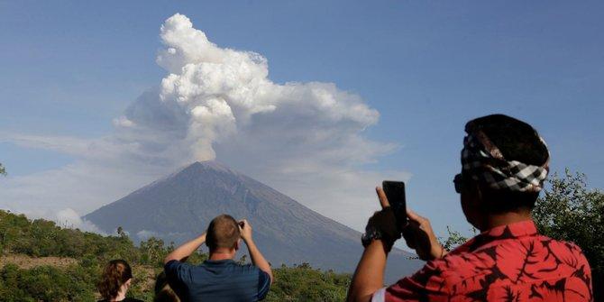 Debu Vulkanik Di Gunung Agung Tidak Terdeteksi