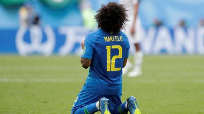 Kondisi Marcelo Semakin Membaik Jelang Brasil Kontra Meksiko