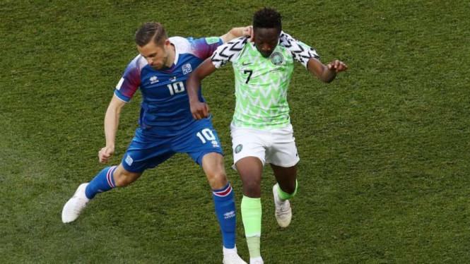 Pelatih Nigeria Ungkap Kunci Suksesnya Tumbangkan Islandia