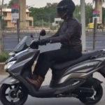 Pesaing Yamaha NMAX dari Suzuki Sudah Berkeliaran di Jalanan
