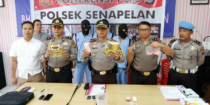 Polisi Tangkap 2 Mahasiswa Pengedar Sabu