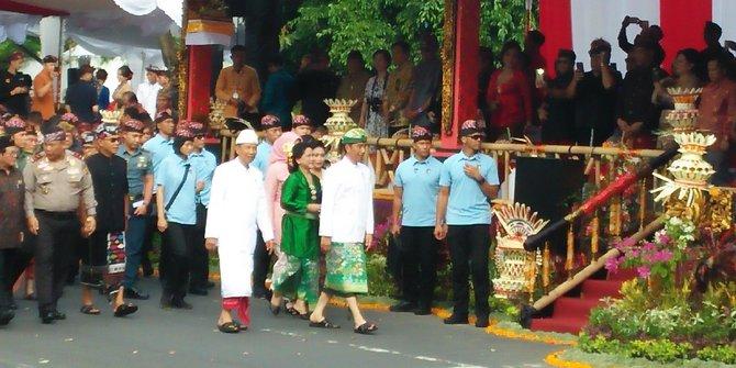 Presiden Jokowi Hadiri Pesta Kesenian Bali