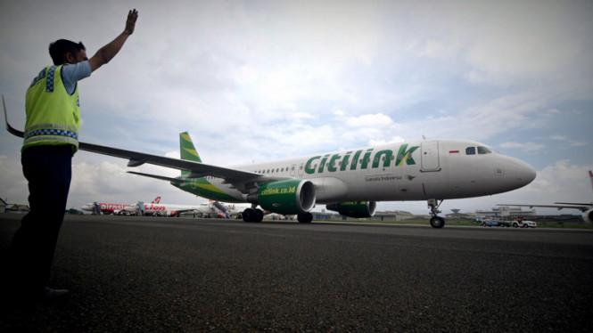 Semua Penerbangan Citilink ke Bali Dibatalkan