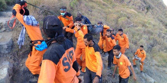 Jenazah Pendaki Korban Gempa Di Gunung Rinjani Berhasil Dievakuasi