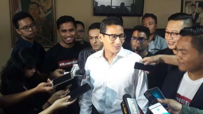 Bawaslu Bakal Memutuskan Kasus Dugaan Mahar Politik Sandi Hari Ini